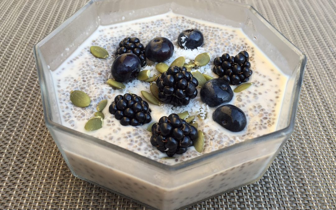 Chia seed pudding – yummy breakfast, snack or dessert