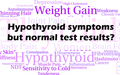 Feel hypothyroid despite normal test results?